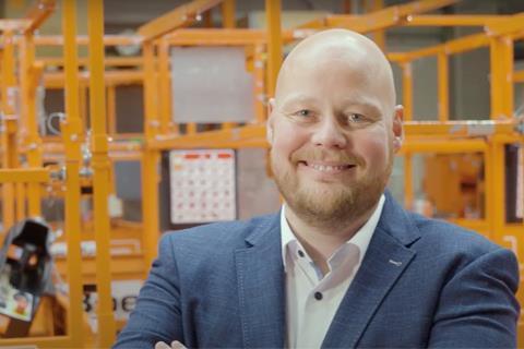 René Sanders, giám đốc bán hàng tại Hà Lan của Boels Rental.